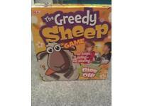 Greedy sheep game