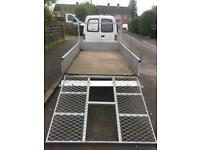 "Factory built 8ft 2"" x 4ft 11"" trailer + ramps/spare wheel"