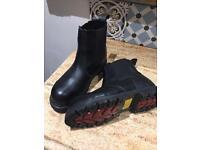 Dickies Steel toe cap slip on boots UK 9