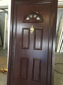 New upvc door