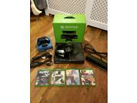 Xbox One 500gb with 5 top games kinect gaming headset ad controller