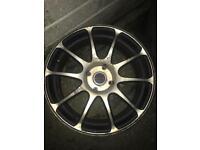 17inch dare alloy wheels