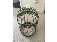 Decorative Bird Cage. Collection only
