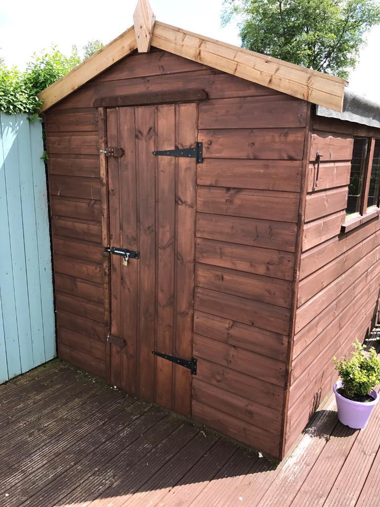 Garden Sheds East Kilbride garden shed 6 feet x 4 | in east kilbride, glasgow | gumtree