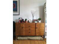 Vintage midcentury Beautility sideboard / dresser