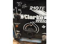 Clarke 210 TE ARC WELDER