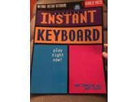 Free Instant Keyboard book with CD