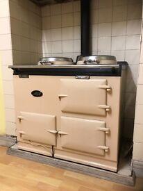 Oil fired AGA - range cooker
