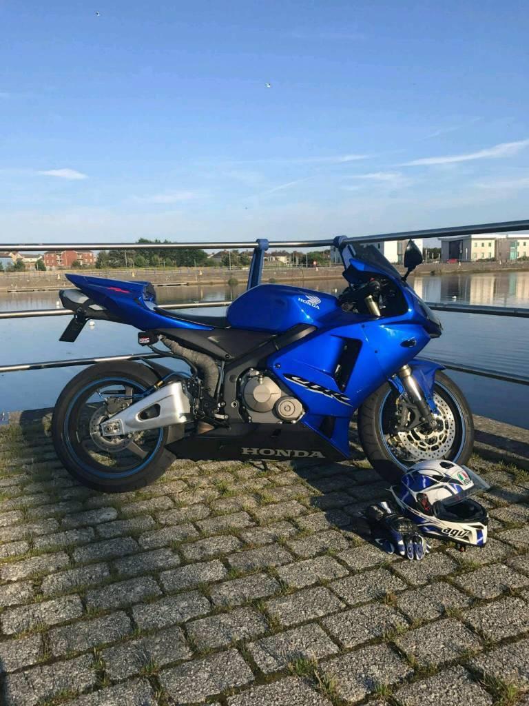 Honda CBR600RR5 2005 11000miles may swap px