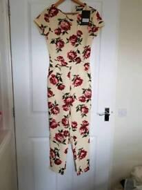 Brand new jumpsuit, dresses play suit