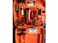 Paslode nail gun im65 f16 2nd fix nailer 3 batteries