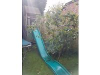 Wooden TP Climbing Frame and Slide