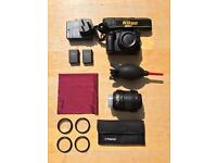 Nikon D3100 14.2MP DSLR Digital Camera + Accessories