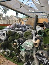 loads of artificial grass! reduced prices
