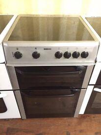 Beko Silver 60cm electric cooker