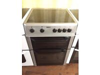 Beko Silver 60cm electric cooker