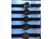 5 Watches Brand New