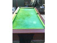 6x3 pool table ascot
