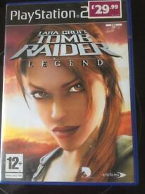 PS2 Tomb Raider Legend