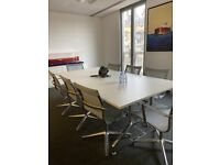 8-SEATER BOSS DEPLOY MEETING ROOM TABLE