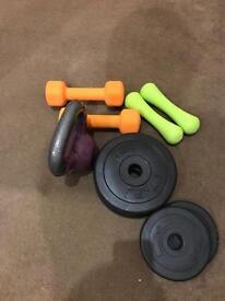 Mixed weights