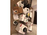 Joblot CCTV cameras