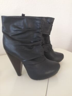 c0c6892ce1d0 Tally Weijl Ankle Boots Stiefel Stiefeletten Gr 39 Plateau High H in ...