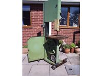 vertical wood band saw Sorry now sold