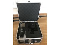 AKG Perception 220 Large Diaphragm Condenser Microphone with tripod and cable New! Bargain!