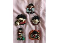 Dennis The Menace And Gnasher Collectable Fridge Magnets Excellent Condition