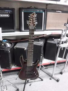 Schecter C-8 Hell Raiser 8 String Guitar. We Buy and Sell Used Guitars and Musical Instruments. 115188 ch619404