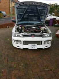 Classic Subaru impreza wrx ra turbo import