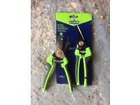 Pruning set - 2 pairs of hand secateurs