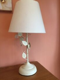 Lovely pair of lamps - one standing floor lamp and one table lamp