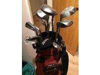 Full Set of Wilson's Golf Clubs: Irons, Woods and Putter