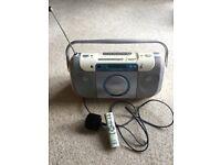 Sony cd/cassette/radio player