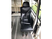 Solid Van Minibus Seat with Seatbelt