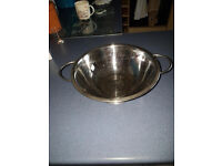 stainless steel colander (strainer)