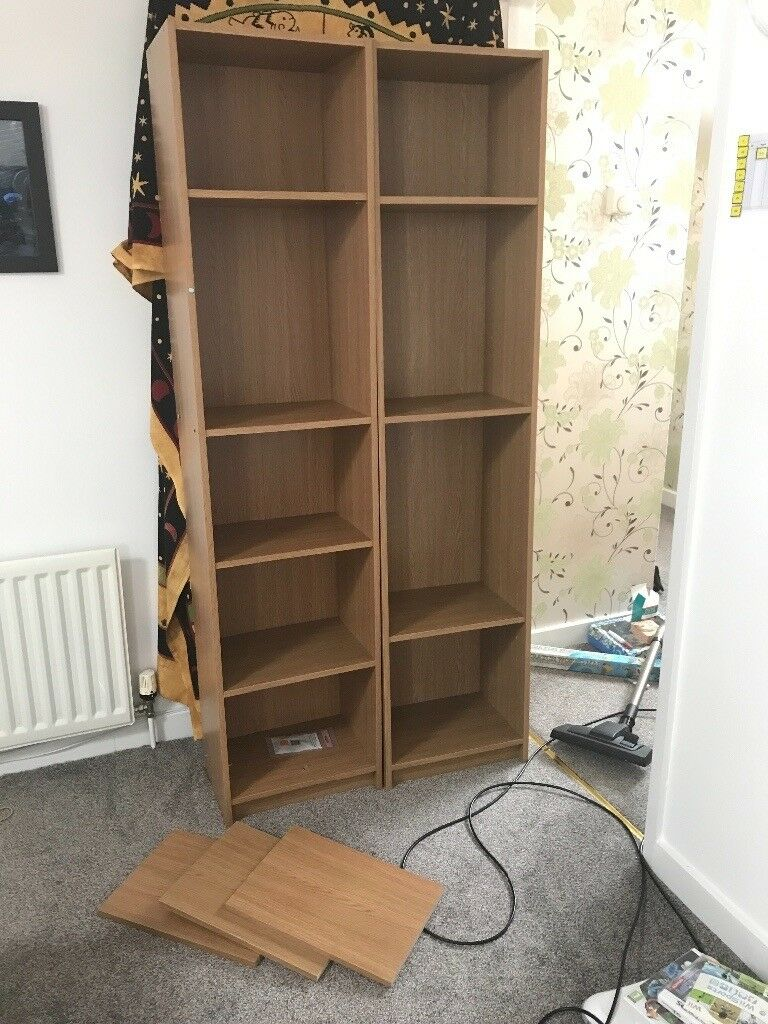 Bookcase pair for sale