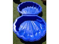 Paddling pool sand pit ball pit plastic shell