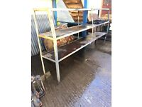 SHELVING FOR SALE - great for a garage / for storage