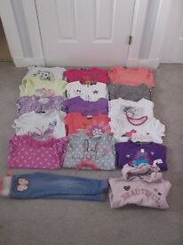 4-5yrs bundle 15 tshirts, 1 trousers & 1 hoodie collect or deliver Stonehaven only, no postage