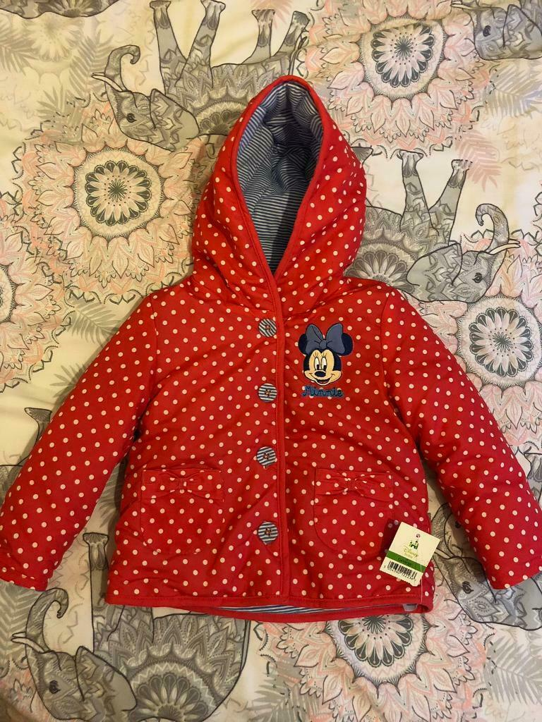 Minnie Mouse Zip Up Jacket 12-18 Months Baby & Toddler Clothing Clothing, Shoes & Accessories