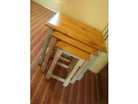 Vintage Pine Nest of Tables
