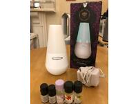 madebyzen aroma diffuser enso white+5 complimentary essential oil