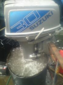 SUZUKI DT 30HP OUTBOARD WITH ELECTRIC START