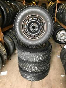 235 70R 16 AVALANCHE X-TREME WINTER SNOW TIRES & RIMS 5X112 BOLT 9/32NDS VW TIGUAN AUDI MERCEDES-BENZ AND MORE