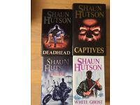 9 Shaun Hutson Hardbacks