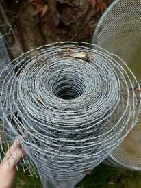 40 meters of chicken wire