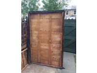 Shed Roof - free to anyone who can collect 6-foot x 4-foot - wooden structure with waterproof felt